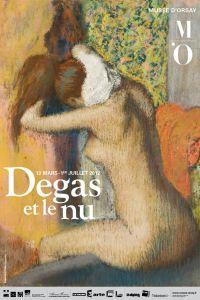"""Exposition """"Degas et le nu"""" au musée d'Orsay."""
