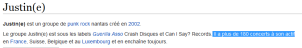 Justine-Wikipedia